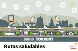 Torrent presenta l'aplicació Rutes Saludables