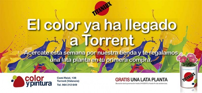 ¡El color ya ha llegado a Torrent!