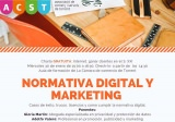 "ACST presenta la charla gratuita ""Normativa Digital y Marketing"""